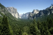 Blick in das Yosemite Valley