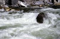 Fluß im Kings Canyon