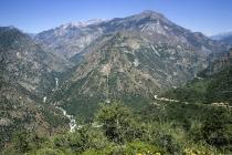 Blick in den Kings Canyon