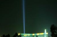 Lichtstrahl eines Hotels in Las Vegas