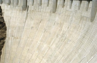 Staumauer des Hoover-Damms