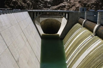 Dicke Röhre des Hoover-Damms