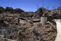 Viele Strommasten am Hoover-Damm
