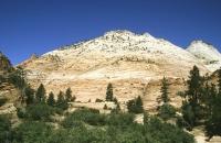 Felsenlandschaft nahe des Zion Nationalparks