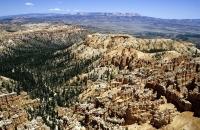 Typische Landschaft im Bryce Canyon