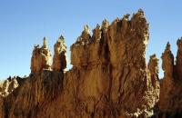 Mehrere Säulen im Bryce Canyon