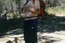 Fred in etwas seltsamen Outfit :-)