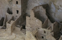Wohnung der Anasazi