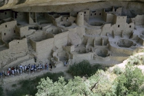 Wohnungen der Anasazi