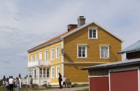 Gebäude von Moose Garden