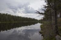 Stiller See in Schweden