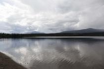 Ein wundervoller See für ein Picknick
