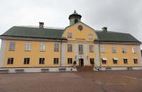 Verwaltungsgebäude der Kupfergrube in Falun