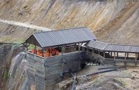 Eine Besuchergruppe der Kupfergrube