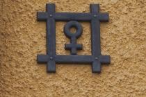 Das Zeichen für Kupfer
