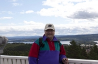 Ein alter Schwede am Siljansee