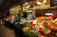 Gemüsestand am Östermalmstorg