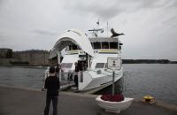 Das Schnellboot nach Stockholm