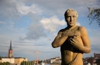 Skulptur vor dem Stadhus