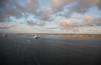 Hafenausfahrt von Göteborg