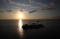 Abendstimmung in der Nordsee