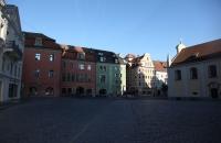 Die Altstadt von Regensburg in morgendlicher Ruhe
