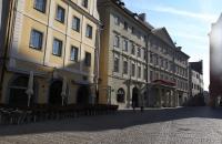 Am Haidplatz in Regensburg