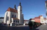 Auf der Porta Pratoria in Regensburg