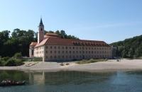 Das schön gelegene Kloster Weltenburg