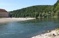 Blick auf die Weltenburger Donauschlinge