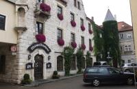 Das weiße Brauhaus in Kelheim