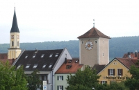 Alte Türme in Kelheim