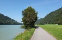 Der Donau folgten wir stromaufwärts