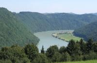 Blick zur Donauschlinge