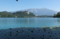 See in Bled in Slowenien