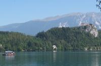See in Bled in Slowenien