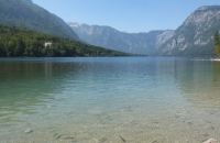 Der schöne See Bohinjsko