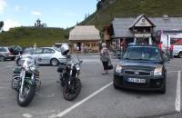 Parkplatz der Glockenhütte an der Nockalmstrasse