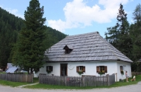 Altes Haus an der Nockalmstrasse