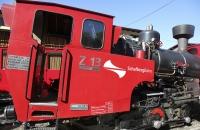 Dampflokomotive der Schafbergbahn