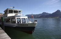 Das Schiff Österreich am Wolfgangsee