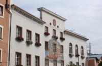 Amtsgebäude in der Stadt Hallein