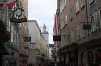 In der Salzburger Innenstadt