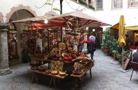 Diverser Klimbin in der Salzburger Altstadt