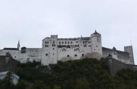Blick auf die Festung Hohensalzburg