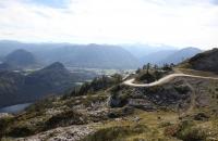 Blick von der Loseralm runter auf den Altaussee