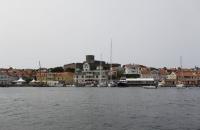 Blick auf Marstrand und die Karlstens Festung