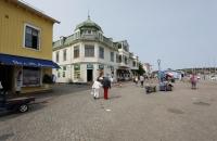 Strandpromenade in Marstrand