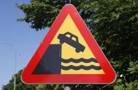 Dieses Schild sieht man öfters, dann sollte man nicht mehr sehr weit fahren :-)