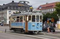 Alte Tramway in Göteborg – sicher nur für die Touristen unterwegs